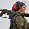 Kurdish Fighter Afp